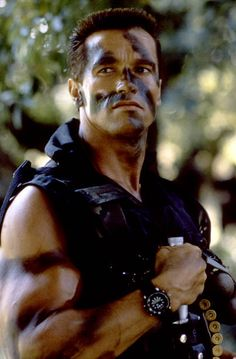 Austrianborn American actor Arnold Schwarzenegger on the set of Commando directed by Mark L Lester Arnold Schwarzenegger Movies, Arnold Schwarzenegger Bodybuilding, Predator Arnold, Arnold Movies, Arnold Bodybuilding, Movies Point, Terminator Movies, Romantic Comedy Movies, Black Actors