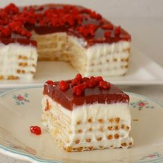 Sweet Recipes, Cake Recipes, Snack Recipes, Dessert Recipes, Honey Dessert, Cold Desserts, Pastry Cake, Turkish Recipes, Ice Cream Recipes