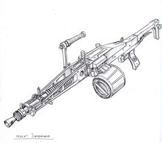 Fortnite Rifle Scar Coloring Page Upowqeihowqefh