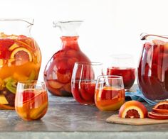 Easy Sangria Recipes for Summer. Sangria is a perky, fruit punch cocktail that can transform a pitcher into a party. Here are three easy, summery sangrias to serve at your next summer get-together, including a non-alcoholic version for the kids.
