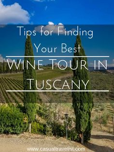 Tips for Choosing the Best Wine Tour in Tuscany for You - Rome and Florence are undeniably two of the world's greatest cities but Italy's heart lies in T - Backpacking Europe, Europe Destinations, Bucket List Europe, Italy Travel Tips, Travel Europe, Europe Train, Italy Vacation, Italy Trip, Tours In Italy