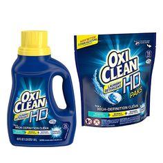 En Walgreens puedes conseguir el detergente OxiClean de 18 pack o de 20-26 lavadas a $3.99 en especial desde el 3/12-3/18. Compra (1) y uti...