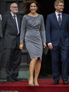 Royalty: Crown Princess Mary of Denmark.