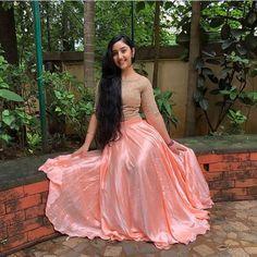 For details / order please dm or Whatsapp on . Lehenga Designs, Indian Skirt, Indian Dresses, Most Beautiful Indian Actress, Beautiful Actresses, Indian Designer Outfits, Designer Dresses, Dresses For Teens, Girls Dresses