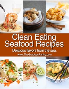 Clean and healthy seafood recipes