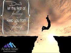 #achievetoday #fear #flying