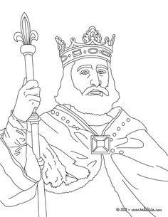 king charles martel coloring page