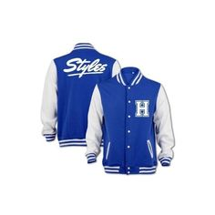 Bang Tidy Clothing Unisex Styles Varsity Jacket ($38) ❤ liked on Polyvore featuring outerwear, jackets, one direction, 1d, jaqueta, unisex jackets, letterman jackets, varsity bomber jacket, varsity style jacket and college jackets