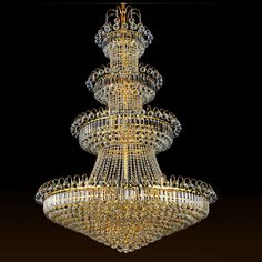 986.04$  Watch here - http://alikmg.worldwells.pw/go.php?t=32543595955 - 100cm Luxury Big Europe Large Gold Luster Crystal Chandelier Light Fixture Classic Light Fitment for Hotel Lounge Decoratiion