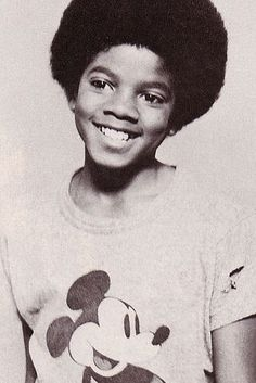Michael jackson toen hij klein was