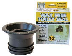Wax Free Toilet Seal