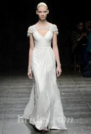 Modern bride on the runway....My how things have changed.