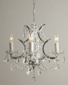 """Maria Theresa"" Lighting - Horchow"