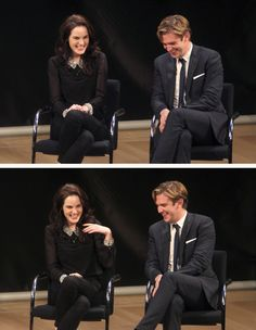 Michelle Dockery And Dan Stevens At The PBS Special Screening Of Downton Abbey <3 - dan-stevens-and-michelle-dockery Photo