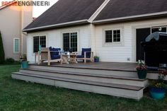 Pergola For Small Patio Product Floating Deck Plans, Building A Floating Deck, Deck Building Plans, Cool Deck, Diy Deck, Freestanding Deck, Laying Decking, Deck Construction, Pergola Plans
