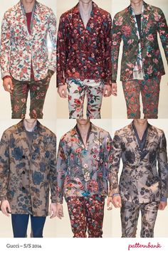 Menswear Milan Print & Pattern Highlights   Spring/Summer 2014