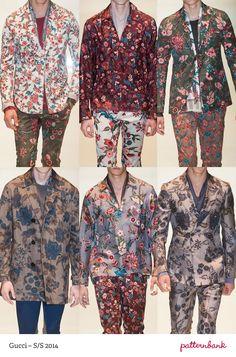 Menswear Milan Print & Pattern Highlights   Spring/Summer 2014 - Meo