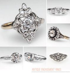 I'm usually against posting wedding crap, but this is exactly what I want in an engagement ring.