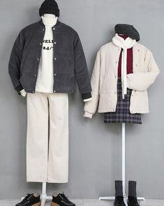 마리쉬 신상 커플룩 입니다🙂 마리쉬 코디 -> 커플룩👫-> 신상에서 볼 수 있습니다🙂❤️ #marishe #마리쉬 #커플룩 #트윈룩 Fashion Couple, Cute Fashion, Look Fashion, Daily Fashion, Girl Fashion, Winter Fashion, Fashion Outfits, Korea Fashion, Asian Fashion