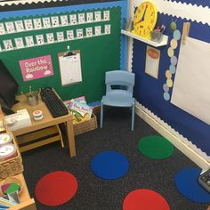 Role play - school Eyfs Activities, Nursery Activities, Activities For Kids, Kids Role Play, Kids Play Area, School Sets, School Themes, Deconstructed Role Play, Role Play Areas Eyfs