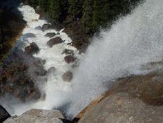 Top of Nevada Fall Yosemite National Park Yosemite National Park, National Parks, Yosemite Waterfalls, Nevada, Tours, Spring