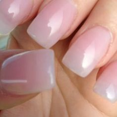40 Classy Acrylic Nails That Look Like Natural - ILOVE : If you want your acrylic look like Natural Nails, Just put simple nude color or clear gels on your nails. Make them shorter. French tips are also nice for natural nails design. Gel French Manicure, Pink Manicure, Pink Nail Polish, Pink Nails, My Nails, Pink Clear Nails, Pink Powder Nails, Black Polish, Classy Acrylic Nails