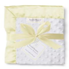 Stroller Blanket Plush Dot with Baby Velvet