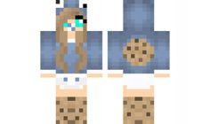 minecraft skin Cooke-baby-girl Find it with our new Android Minecraft Skins App: https://play.google.com/store/apps/details?id=studio.kactus.girlskins