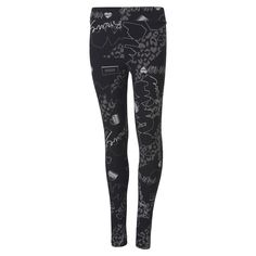 Product details•leggings•regular waist•elasticated waistfabric content and care advice•95% cotton, 5% elastane•please refer to the care instructions on the product label Cotton Leggings, Product Label, Black Print, Products, Fashion, Gray, Black, Cowboys, Stretching