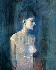 Pablo Picasso – Girl in a Chemise, c.1905