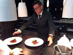 """Carne de Kobe A5 con lechuga marina y caviar"" by Enrico Croatti.  #Orobianco #OrobiancoCalpe #RestauranteOrobianco #Calpe #Ristorante #ComidaItaliana #Gastronomía #RestauranteItaliano #RestauranteCalpe #EnricoCroatti #ComerenCalpe #RestaurantesCalpe #cartadeverano"