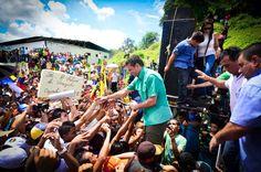 Recorriendo puebloxpueblo en Anzoátegui. Henrique Capriles Radonski
