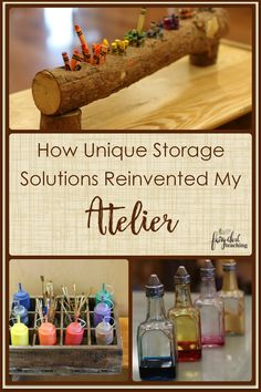 How #Unique #Storage Solutions Reinvented My #Atelier l Fairy Dust Teaching