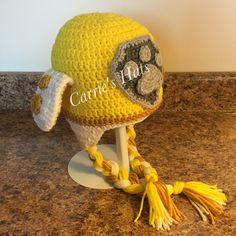 Paw Patrol Rubble Crochet hat https://www.etsy.com/listing/266057025/crochet-hat-patterns-inspired-by-paw?ga_order=most_relevant&ga_search_type=all&ga_view_type=gallery&ga_search_query=Paw%20Patrol%20hat%20pattern&ref=sr_gallery_2