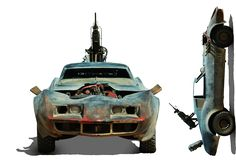 Resultado de imagem para post apocalyptic car 3d