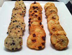 sablés salés pour l'apéritif : tomates, parmesan / pistache, olives / cantal, chorizo