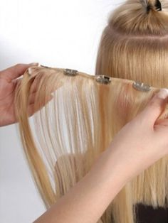 The most popular and commonly available Clip in #hairextension form #hairextension sale  #hairextensions shop in CA is known as premium hair. It is sold in the majority of beauty supply stores worldwide. http://goo.gl/w9maib