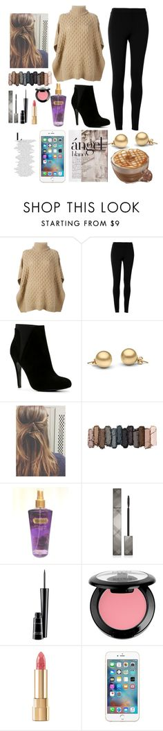 """""""Keeping Warm"""" by vanessaa2022 ❤ liked on Polyvore featuring MICHAEL Michael Kors, Max Studio, ALDO, Urban Decay, Victoria's Secret, Burberry, MAC Cosmetics, NYX and Dolce&Gabbana"""