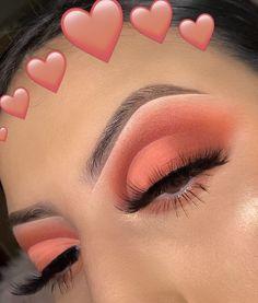 Makeup Eye Looks, Cute Makeup, Eyeshadow Looks, Gorgeous Makeup, Skin Makeup, Easy Makeup, Eyeshadow Makeup Tutorial, Eyeshadow Ideas, Eye Makeup Steps