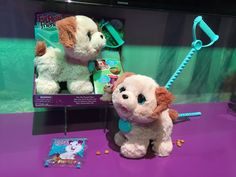 Pin for Later: See All 170+ Brand-New Toys Your Kids Will Be Begging For This Year Fur Real Friends Pax My Poopin' Pup