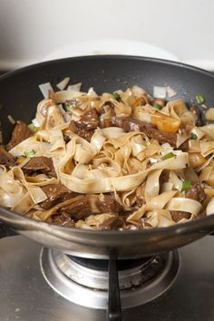 Martin Yan's Beef Chow Fun- this can also be made in a large fry pan instead of a wok