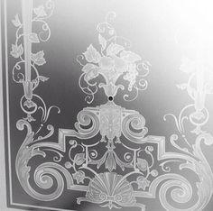 Glasmotive Jugendstil