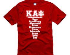 Kappa Alpha Psi Stripes Tank Top Shirt by ShirtScreeners on Etsy Kappa Alpha Psi Fraternity, Divine Nine, Tank Top Shirt, T Shirt, Striped Tank Top, Graphic Tees, Homecoming Ideas, Diamonds, Greeks