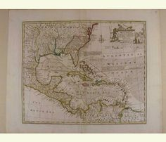 An Accurate Map of the West Indies. 1752
