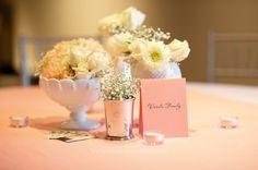 milk glass wedding centerpieces | Milk glass centerpiece | Wedding Inspiration