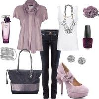 Pretty Lilac Outfit