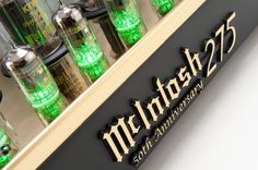 I Must have it please!!! McIntosh launches 50th Anniversary edition MC275 Tube Power Amplifier