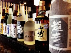 The Dojo has a large bar with food specials, beer on tap, liquor, specialty drinks, Japanese Whisky and of course, sake and shochu.