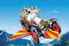Chitty Chitty Bang Bang Dick Van Dyke stars as quirky inventor Caractacus Potts, whose magical flying car transports his family and lovely lady friend to Vulgaria -- a kingdom strangely devoid of children, ruled by the evil Baron Bomburst. Great show Family Movie Night, Family Movies, Bang Bang, Old Movies, Great Movies, Awesome Movies, Netflix Movies, Movies Wallpaper, Twilight