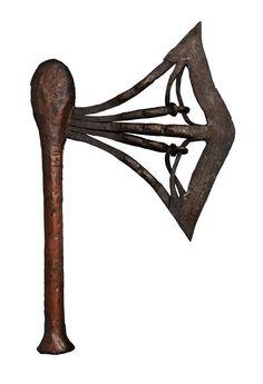 A SONGYE AXE AND A KUBA KNIFE Democratic Republic of the Congo , Auktion 1045 Afrikanische und Ozeanische Kunst, Lot 38